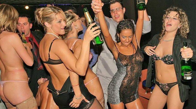 soirée libertine en club privé