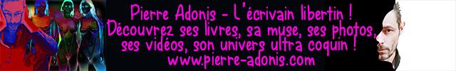 Pierre Adonis, litterature érotique cap d'agde naturiste